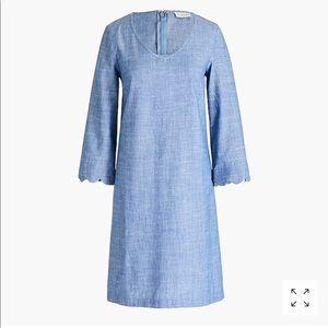 •chambray dress•